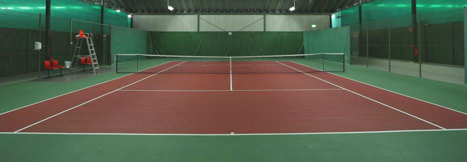 Våra tennisbanor